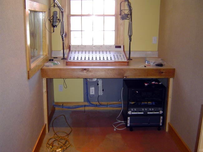 WKZE new production room