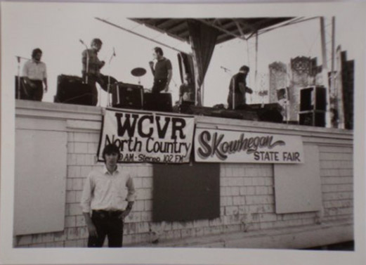 WCVR sometime in the early 1980's