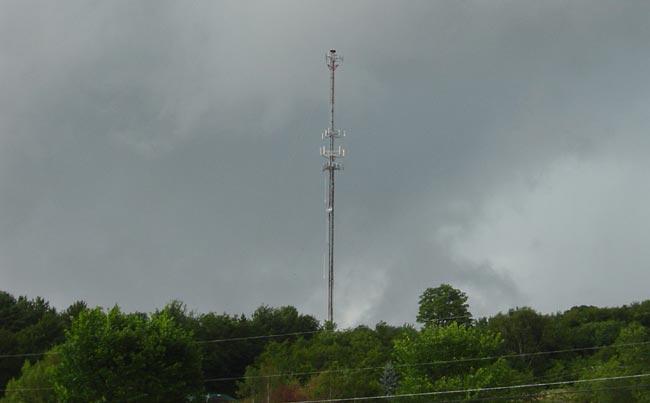 300 foot WCVR tower, Randolph Center, VT