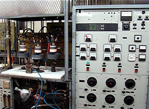 vacuum tube processing machine