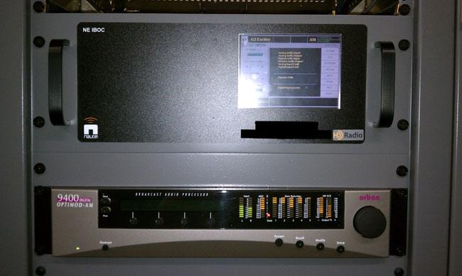IBOC exciter, AM HD Radio