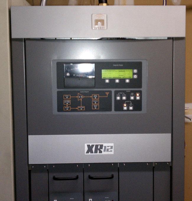 Nautel XR12 medium wave transmitter front