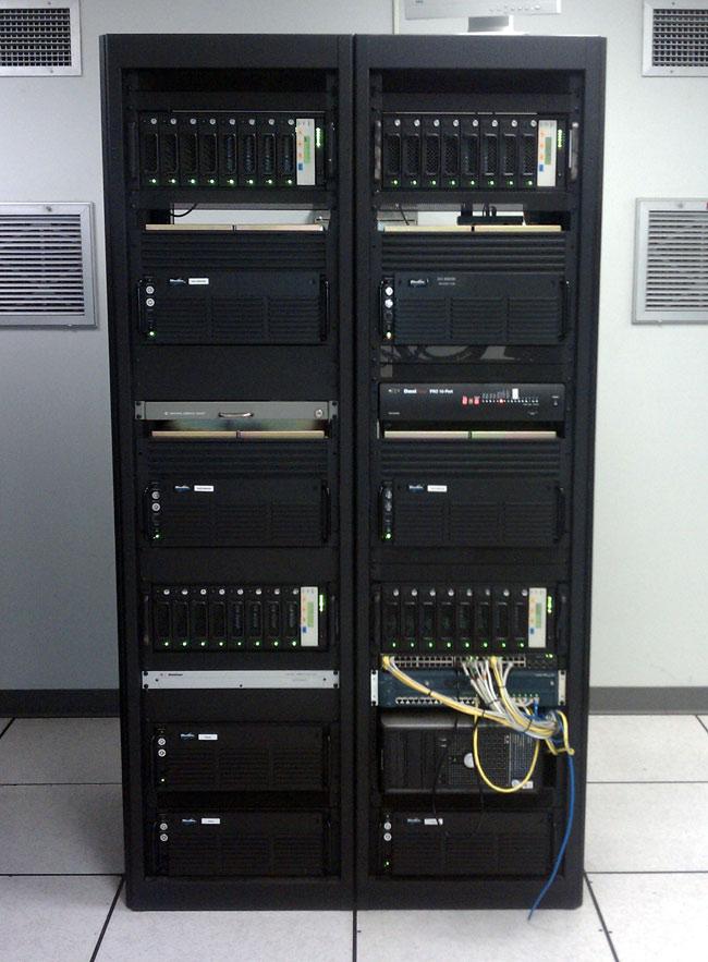 Broadcast Electronics Audiovault 100 system