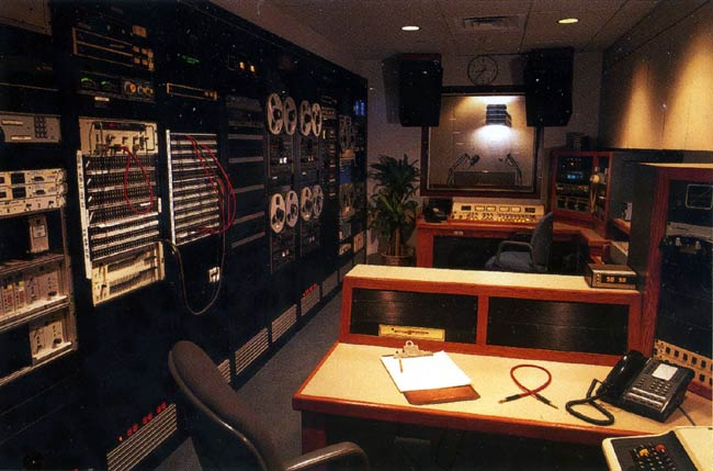 WQXR control room