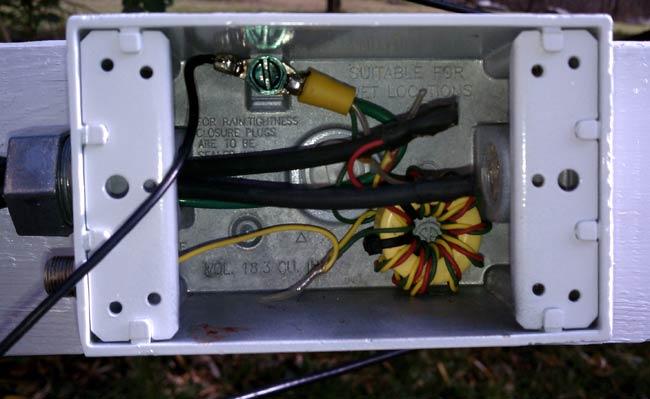 AM receive loop balun transformer
