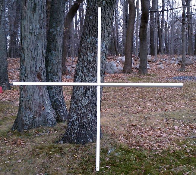 AM receive loop wood frame