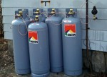 100 pound propane tanks