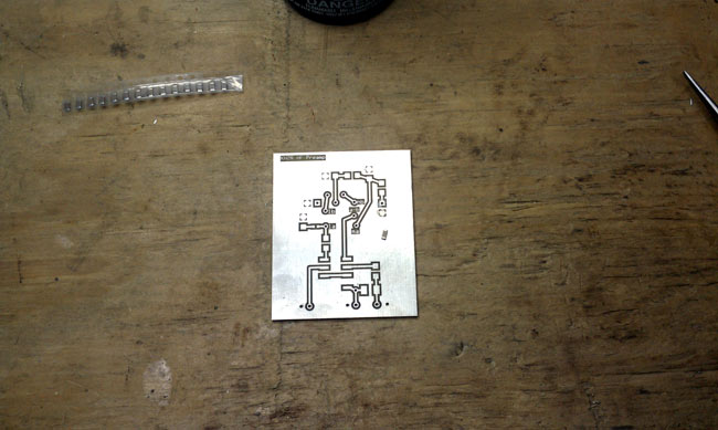 HF receiver preamp SMT board