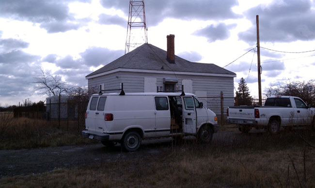 WICC transmitter building