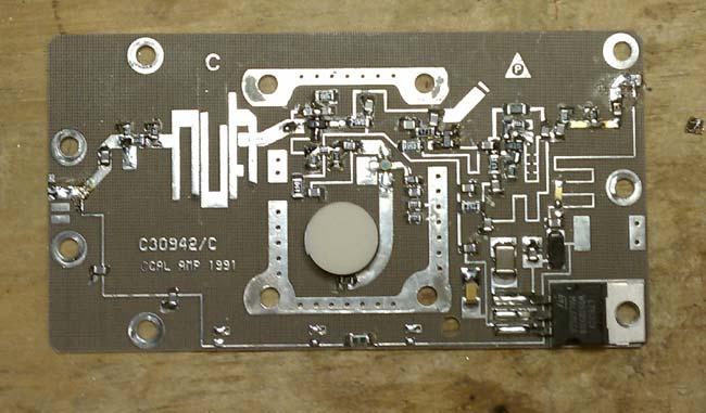 California Amplifiers C band block down converter