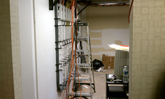 Cumulus Bridgeport wire wall