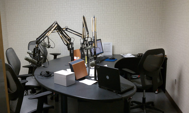 WICC talk studio