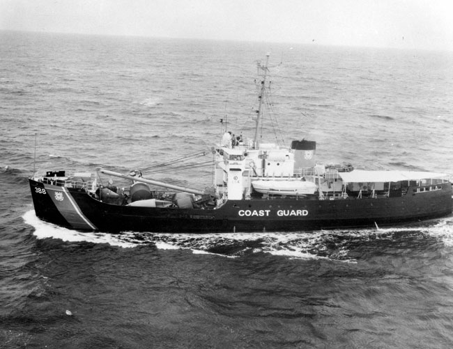 USCGC Basswood, WLB-388 courtesy of Coast Guard Historians office