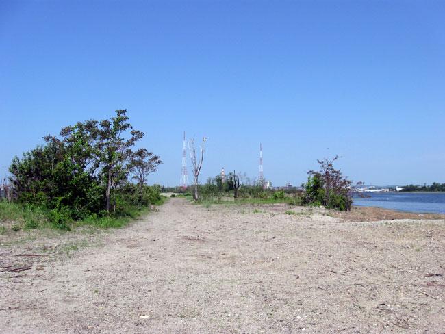 Pleasure beach former cottage area