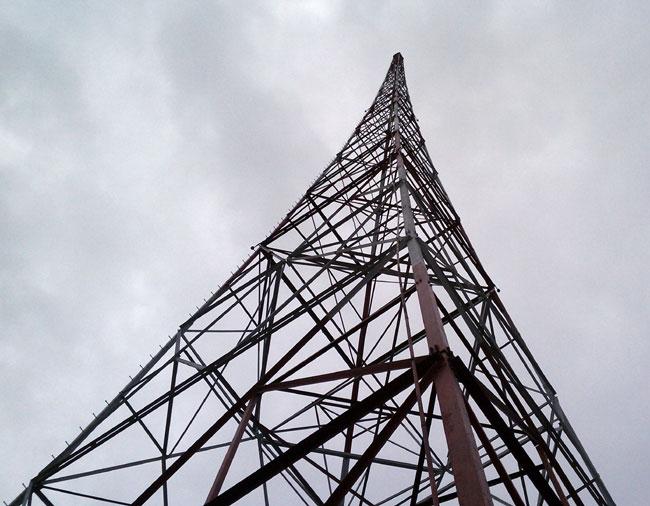 1926 Milliken radio tower