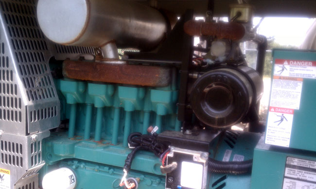Lister petter 4 cylinder 1900 cc engine