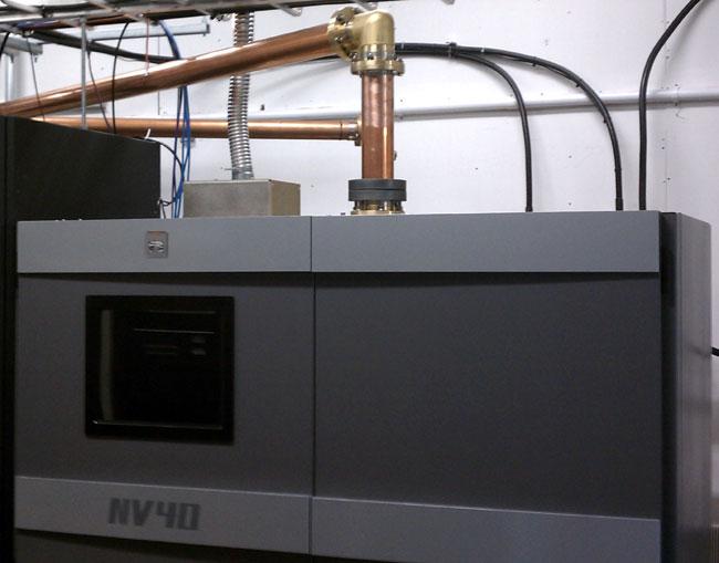 Nautel NV-40 installed