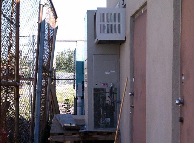 Bard 5 ton wall mount AC unit