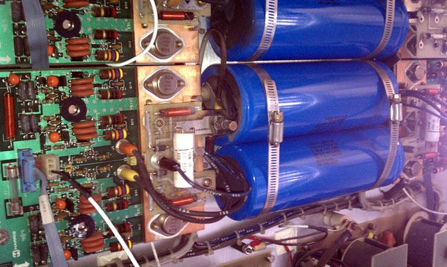 Harris SX 5 modulator section