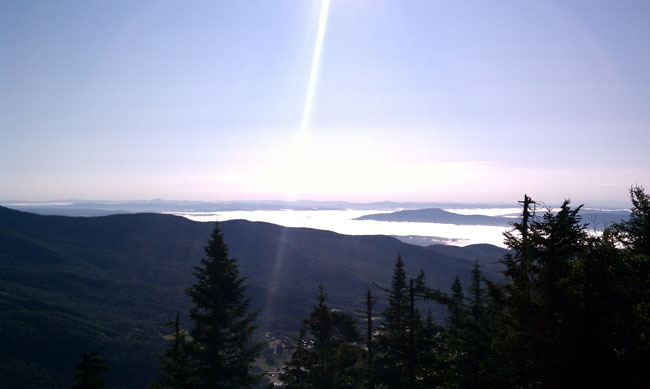 Mount Mansfield morning