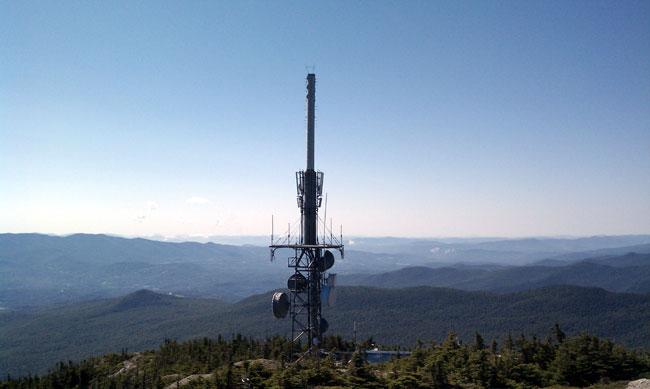 Mount Mansfield Vermont Public TV antenna