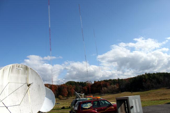 WCKL 560 KHz antenna array