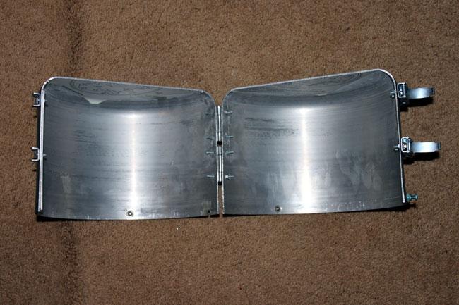 3 1/8 inch coax switch cover modification