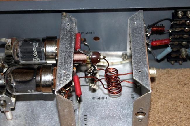 Gates BFE50-C input section