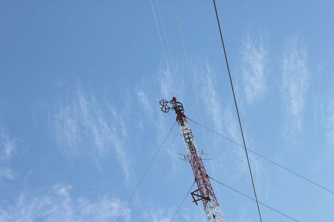 WYJB, WZMR, WAJZ FM antennas, New Scotland, NY