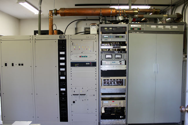 The BE FM20T transmitter