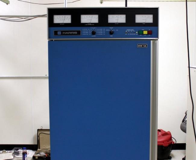 Harris MW1A AM transmitter, WINE, Brookfield, CT