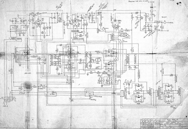 Gates BC250GY Schematic