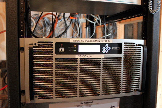 Nautel VS2500 FM transmitter, WBEC-FM, Pittsfield, MA