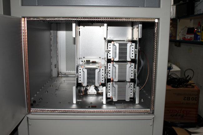 Harris Z6HD transmitter front RF modules