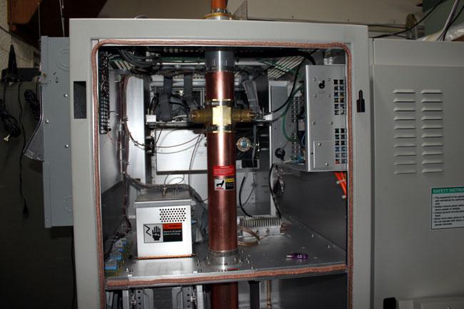 Harris Z6HD transmitter back