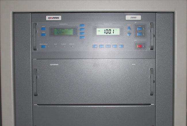 Harris Z6HD transmitter, on air, WFAS-FM, White Plains, NY