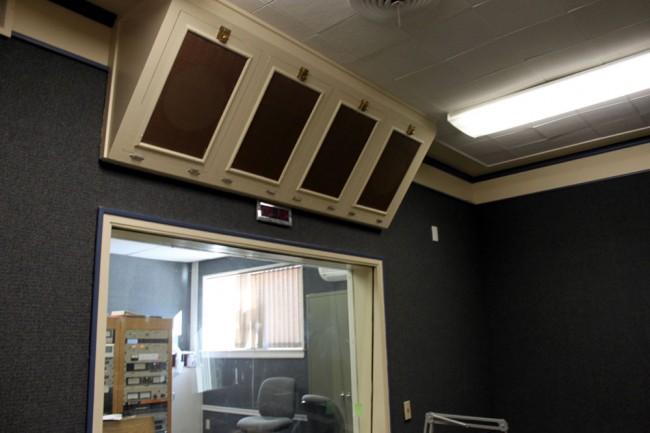 WNAW studio monitor speakers