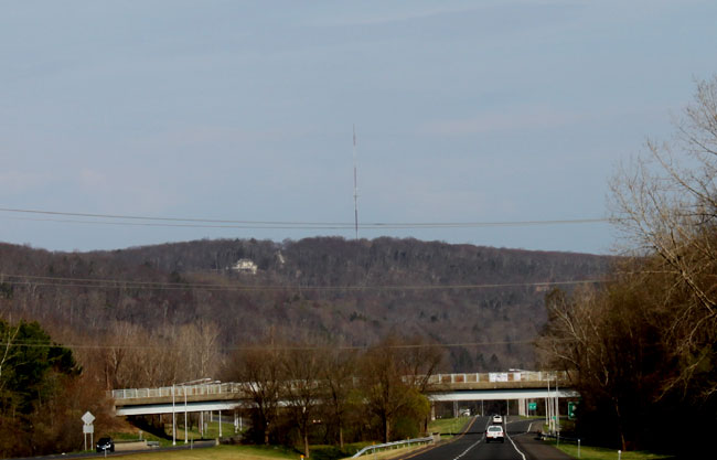 WRKI tower, Brookfield, CT