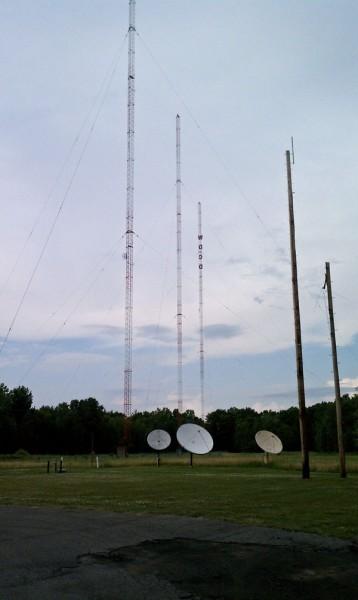 WDCD three tower array, Albany, NY