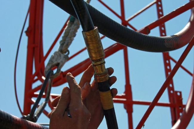 7/8 coax cable splice connector