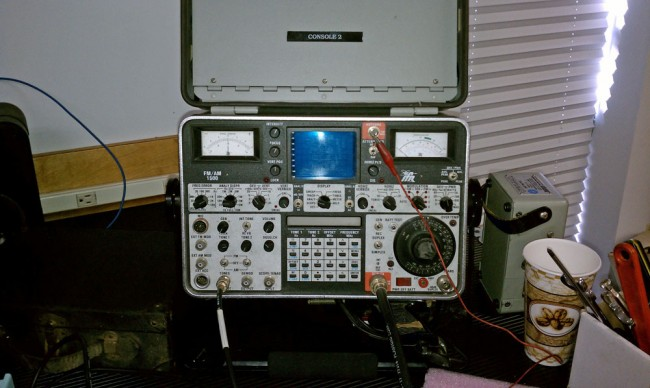 IFR 1500 communications service monitor