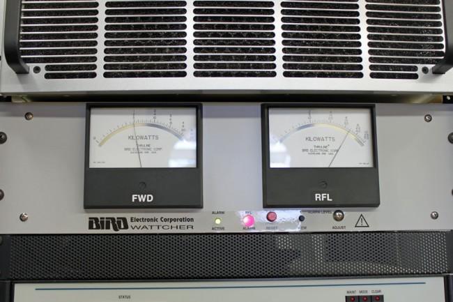 Foward and Reflected power meters, WSPK, Mount Beacon, NY