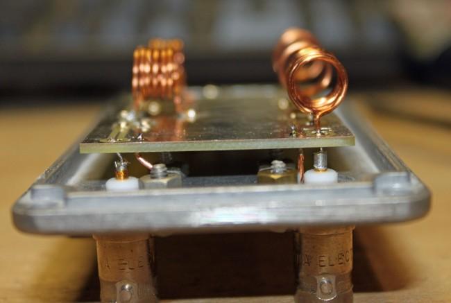HF VHF diplexer input side