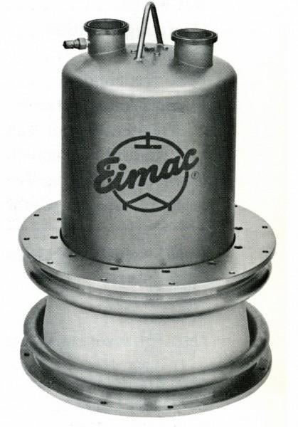 EIMAC X-2159 water cooled power tetrode