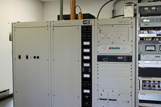 Broadcast Electronics FM20T transmitter