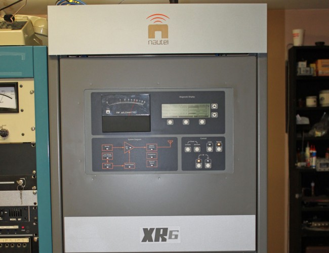 Nautel XR6 transmitter, wvmt Burlington, VT