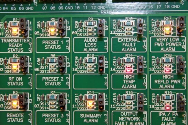 Nautel NV controller board
