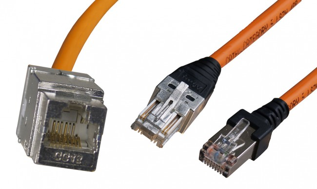 Category 7 GG45 connectors, jack and plug