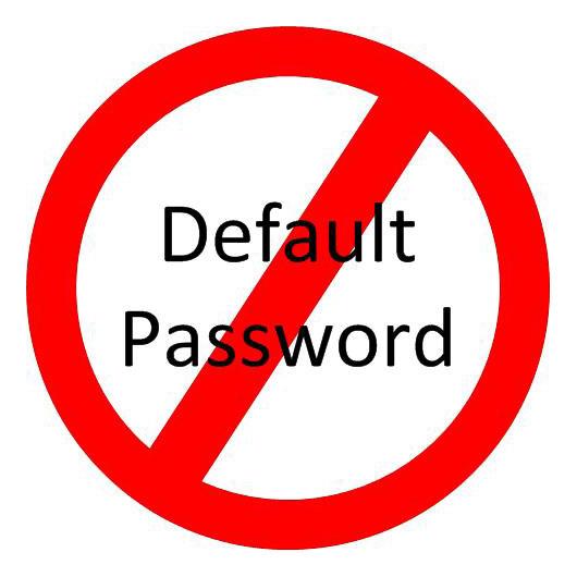 no-default-password