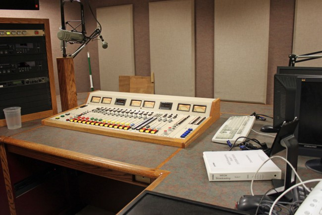 PRE BMXIII analog audio console, reassembled